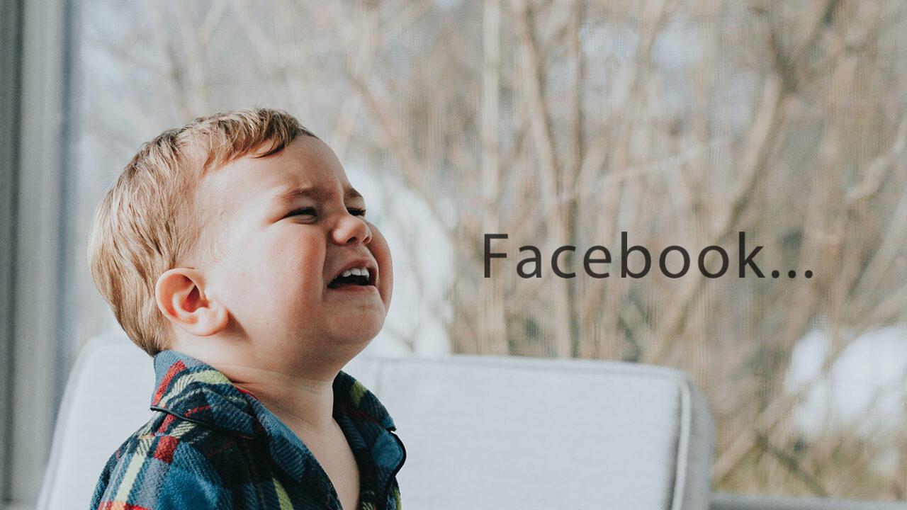 Photoshopで編集済みの写真をFacebookに投稿できないときの対処法