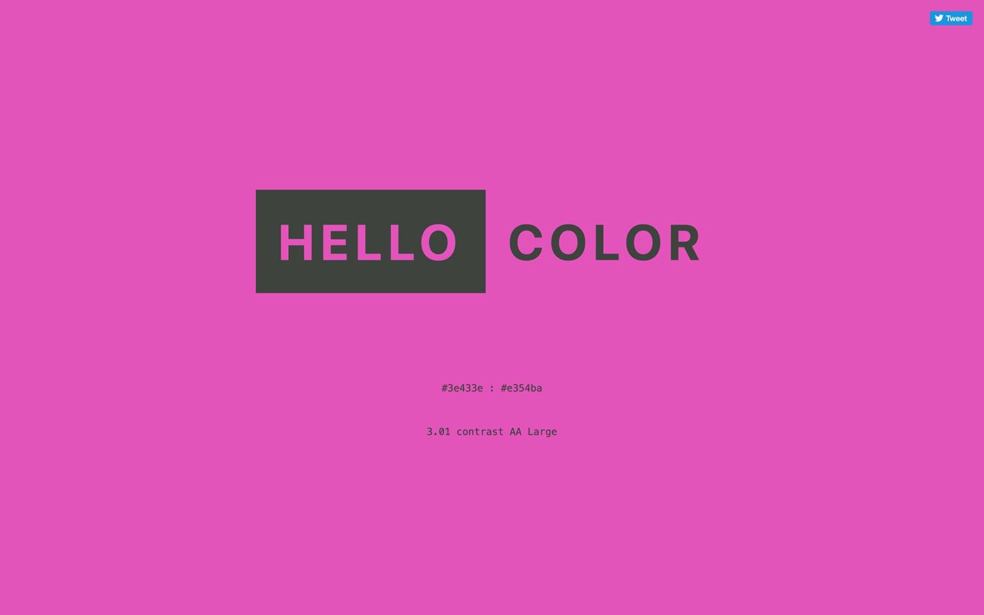 カラーパレット配布サイト「hello-color」