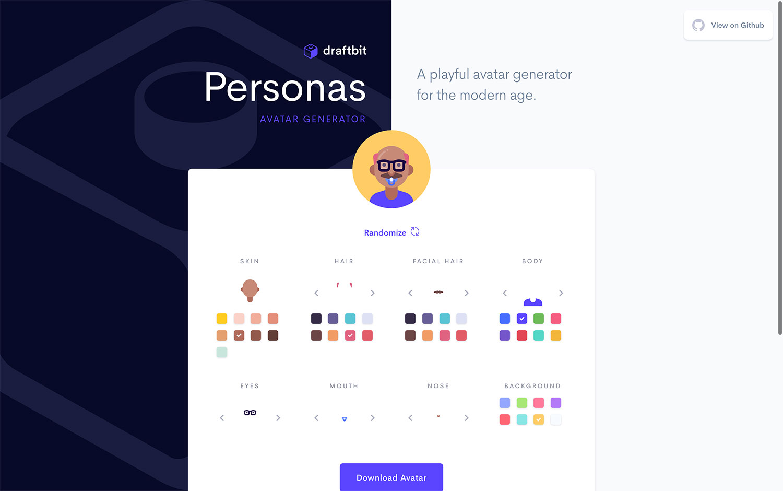 Personas by Draftbit