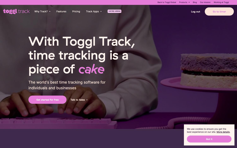 TogglTrackTimeTrackingTool